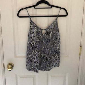 Rory Becca key hole blouse new with tags !!!!